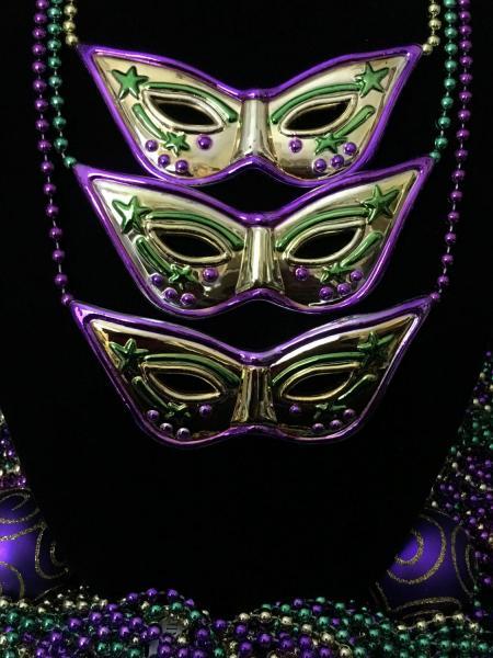 Carnival Masks (One Dozen Large)
