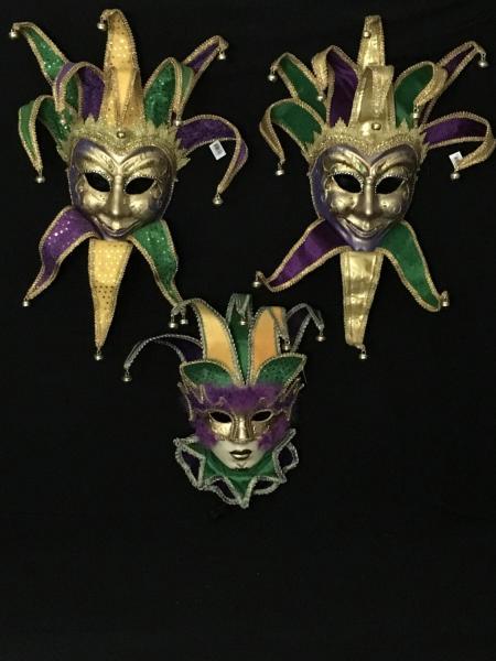Large Jester Mask