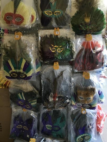 Variety Feather Masks